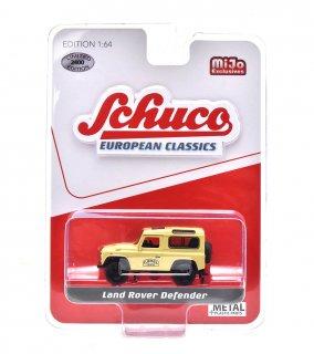 """Schuco 1/64 ランドローバー ディフェンダー """"CAMEL"""" ベージュ ( シュコー 1/64 452018500 )"""