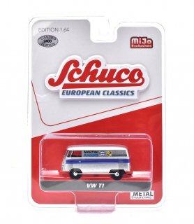 "Schuco 1/64 VW T1 バン ""マルティーニ"" シルバー ( シュコー 1/64 452018400 )"