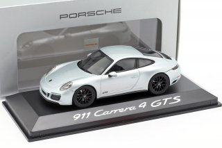 EUポルシェディーラーモデル Porsche 911 Carrera 4 GTS silver