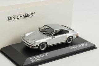 直輸入 ミニチャンプス 1/43 Porsche 911 SC 1979 シルバー