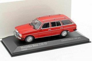 直輸入 ミニチャンプス 1/43 Mercedes-Benz 230 TE (W123) 1982 レッド