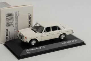 直輸入 ミニチャンプス 1/43 Mercedes-Benz 200 D/8 W115  1968