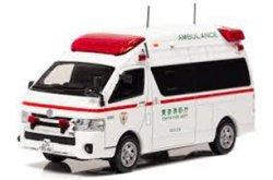 カーネル 1/43  トヨタハイメディック 2017 東京消防庁高規格救急車 ( CN431701 )