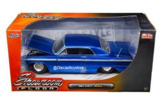 JADATOYS 1/24 1964 CHEVROLET IMPALAインパラ BLUE MIJO EXCLUSIVES 98908-MJ JADA