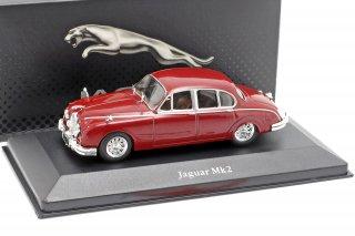 Jaguar Mk II Anno 1960 Rosso Scuro  1/43