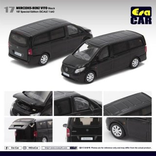 EraCar 1/64 メルセデスベンツヴィート ブラック ロードカー