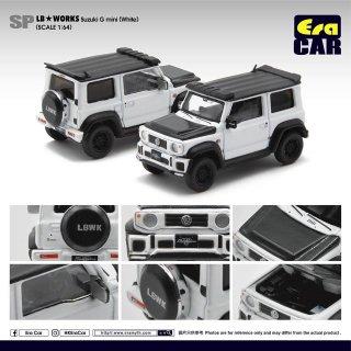 EraCar 1/64  Suzuki ジムニーシエラ- Era Car X Liberty Walk LB Works ホワイト ダイキャスト製