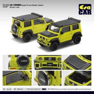 EraCar 1/64  Suzuki ジムニーシエラ- Era Car X Liberty Walk LB Works イエロー ダイキャスト製
