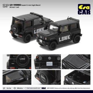 再入荷  EraCar 1/64  Suzuki ジムニーシエラ- Era Car X Liberty Walk LB Works ブラック ダイキャスト製