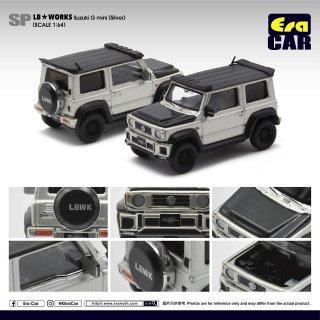 EraCar 1/64  Suzuki ジムニーシエラ- Era Car X Liberty Walk LB Works シルバー ダイキャスト製