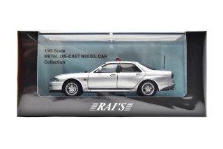 RAIS 1/43 日産スカイラインGT-R AUTECH VERSION 1998 埼玉県警察 覆面 ( 1/43 レイズ H7439804)R33