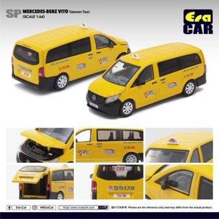 EraCra 1/64 メルセデスベンツヴィート台湾タクシー ダイキャスト製