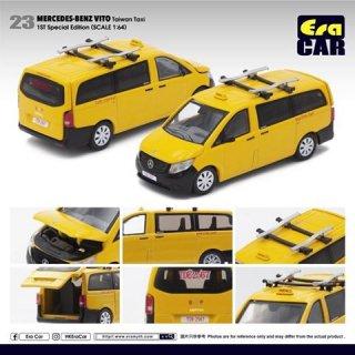 EraCra 1/64 メルセデスベンツヴィート台湾タクシー ルーフキャリア(初回限定)ダイキャスト製