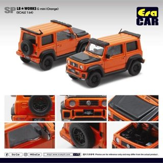 再入荷 EraCar 1/64  SP19 Suzuki ジムニーシエラ- Era Car X Liberty Walk LB Works Part2 オレンジ ダイキャスト製
