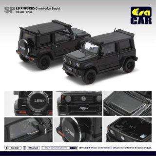 EraCar 1/64  SP21 Suzuki ジムニーシエラ- Era Car X Liberty Walk LB Works Part2 マットブラック ダイキャスト製