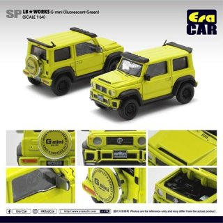 EraCar 1/64  SP22 Suzuki ジムニーシエラ- Era Car X Liberty Walk LB Works Part2 ライムグリーン ダイキャスト製