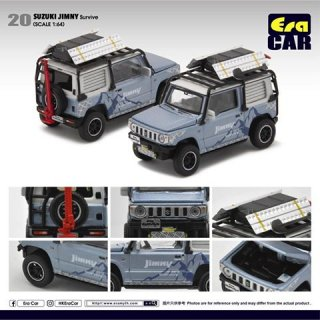 EraCar 1/64 #ERA20 スズキジムニーサバイブ  Suzuki Jimny Survive