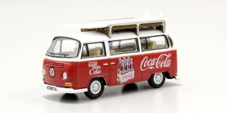 Oxford 1/76 Coca Cola DOX VW Bay Window コカコーラ (1/76 オックスフォードOX76VW030CC )