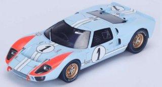 スパーク 1/43 フォードGT40 Mk2 #1 2nd 24H ルマン 1966 (S4075 )