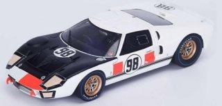スパーク 1/43 フォードGT40 Mk2 Winner デイトナ 24H 1966 白/黒 ( 43DA66 )