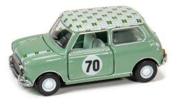 ミニクーパーMk1 1970s #70 緑 ( 小スケール タイニー ATC64751 )