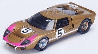 スパーク 1/43 フォードGT40 Mk2 #5 3rd 24H ルマン 1966 ゴールド ( スパーク S4076 )