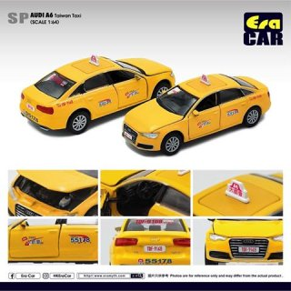 EraCar 1/64 #ERA_SP23 SP アウディAudi A6 &Taiwan Taxi台湾タクシー(ボンネット&前ドア開閉)