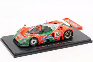 Mazda 787B #55 Winner 24h LeMans 1991 1:43  ※簡易パッケージ