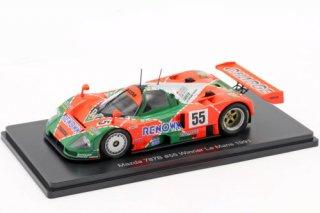 Mazda 787B #55 Winner 24h LeMans 1991 1:43  ※簡易パッケージ