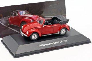 Volkswagen VW Käfer 1302 LS Cabriolet Baujahr 1971 1:43 Altaya
