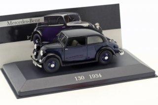 Mercedes-Benz 130 (W23) Baujahr 1934 blau / schwarz 1:43 Ixo Altaya