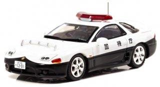 RAIS 1/43  三菱GTO Twin Turbo MR(Z15A) 1997 警視庁高速道路交通隊 (1/43 レイズ H7439706)