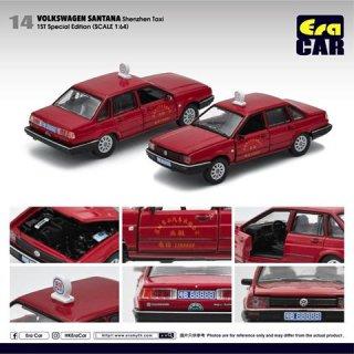 EraCar 1/64 #ERA_14 Volkswagen Santanaサンタナ - タクシー(初回限定)(ボンネット&前ドア開閉)