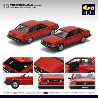 EraCar 1/64 #ERA_15 Volkswagen Santanaサンタナ - レッド(初回限定)(ボンネット&前ドア開閉)