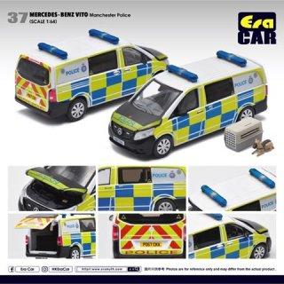 EraCar 1/64 #ERA_37 Mercedes-Benz Vito - マンチェスターポリスカーPolice メルセデスヴィート- 英国警察