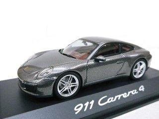 EUポルシェディーラーモデル Porsche 911 Carrera 4 メタルグレー