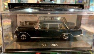 Mercedes Benz 600 1964 ブラック 1/43 メルセデスベンツ