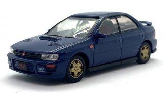 スバル インプレッサ WRX 1994 ブルー RHD SUBARU 1994 Impreza WRX STi ( 1/64 BMクリエーション) Blue