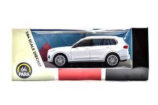 PARAGON Models BMW X7 ホワイト RHD ( 1/64  パラ64 PA-65192 )