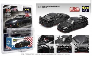 MIJO限定USA EraCar 1/64  Exclusives USA 2020 Nissan GT-R R35 Nismo Black (ボンネット・ドア開閉)
