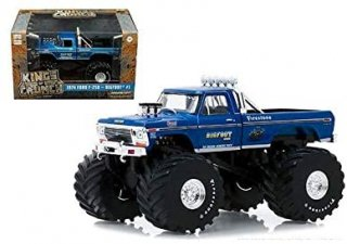 Greenlight 1:43 Kings of Crunch Bigfoot #1 1979 Ford F-250 (Blue) 88011-24 キングオブクランチビックフット