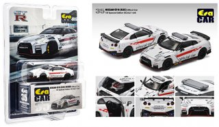 ご予約受付【10月】MIJO限定USA EraCar 1/64  Exclusives USA 2020 Nissan GT-R R35 Official Car オフィシャルカー