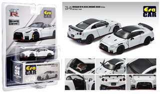 ご予約受付【11月】MIJO限定USA EraCar 1/64  Exclusives USA 2020 Nissan GT-R R35 Nismo 2020 White