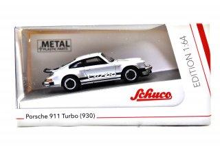 Schuco 1/64 ポルシェ 911 ターボ(930) メタリックシルバー ( 452022400 )