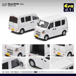 NEW EraCar 1/64 #ERA_SP30  Nissan CLIPPER ニッサンクリッパーNV100(リアゲート開閉)ホワイト