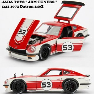 JADATOYS 1:24 JDM TUNERS 1972 Datsun 240Z
