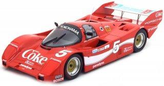 直輸入 NOREV 1/18  Porsche 962 IMSA #5 Winner 12h Sebring 1986 Akin, Stuck, Gartnerコカ・コーラデカール別