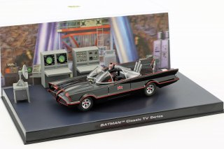 Batmobile Batman TV Series 1966 Black 1:43 Ixo Altaya