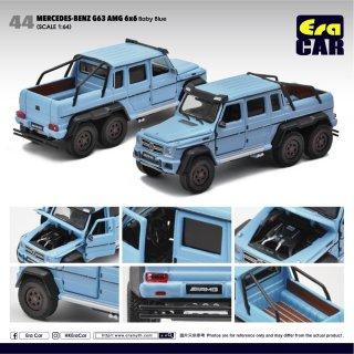 EraCar 44 1/64 Mercedes-Benz G63 AMG 6x6 (Baby Blue) ベイビーブルー