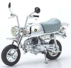 PAD FENG 1/24 ホンダ ゴリラ スプリングコレクション 1999 シルバー (PFH06 ホンダ クラシック モーターサイクルシリーズ)